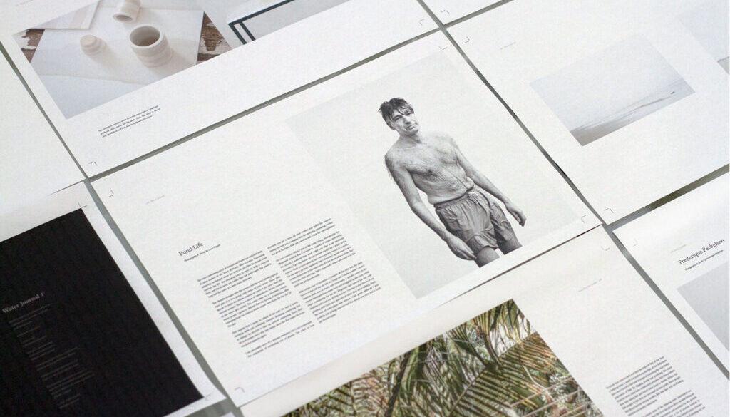Project: Water Journal Magazine
